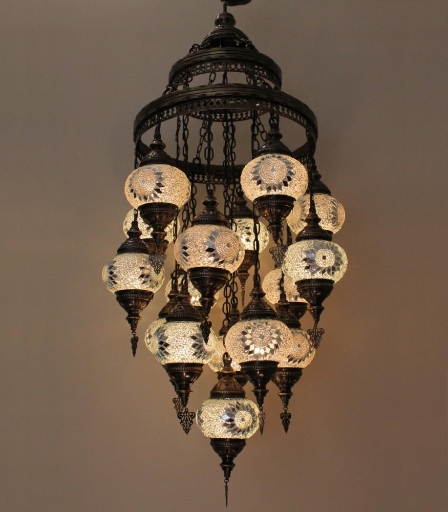 Turkish Ceiling Lights Pendants White Colour