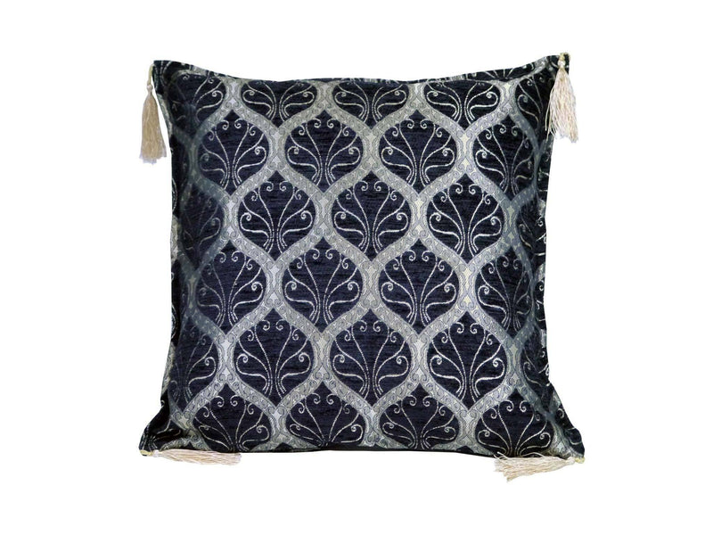 Turkish Cushion Cover Black Colour
