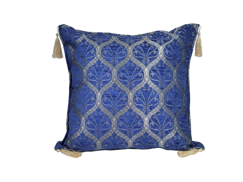 Turkish Cushion Cover Blue Colour