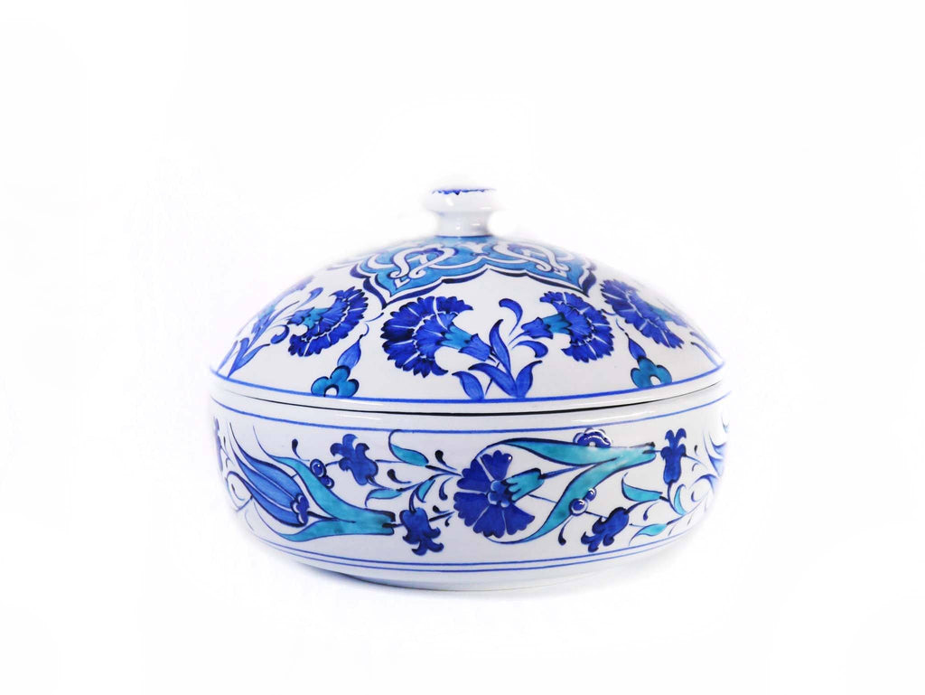 Traditional Iznik Ceramic Sugar Bowls