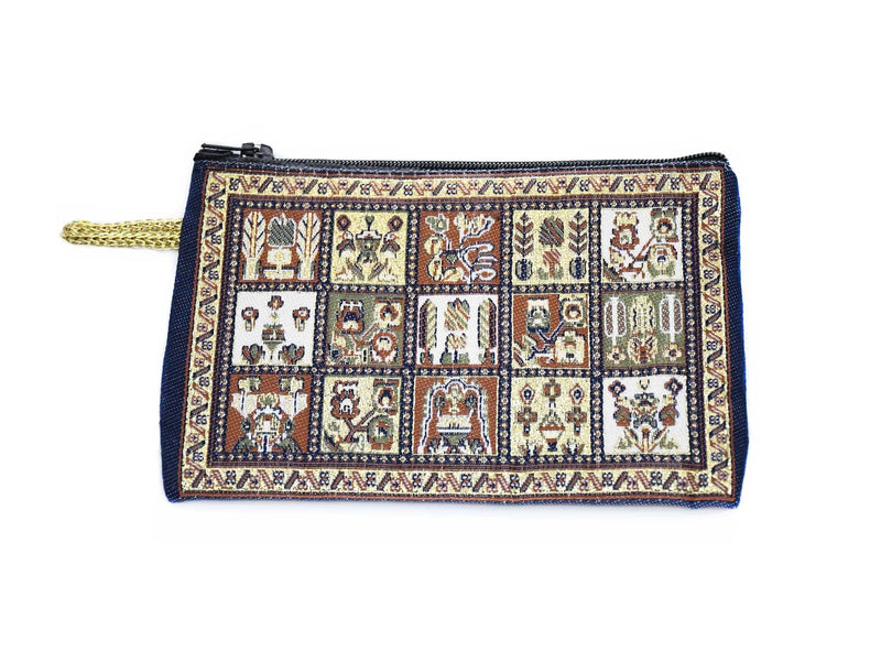 Coin Pouch Carpet Pattern patchwork design