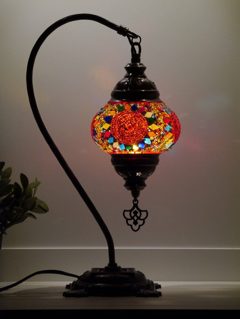 Turkish Mosaic Lamps Multicoloured Australia