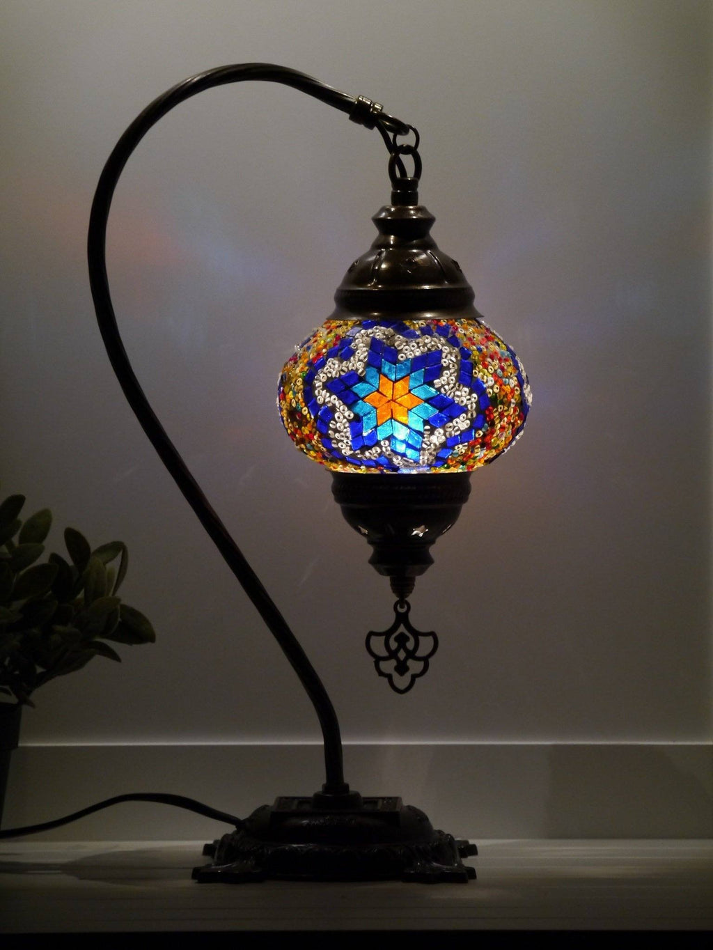 Turkish bedside lamps