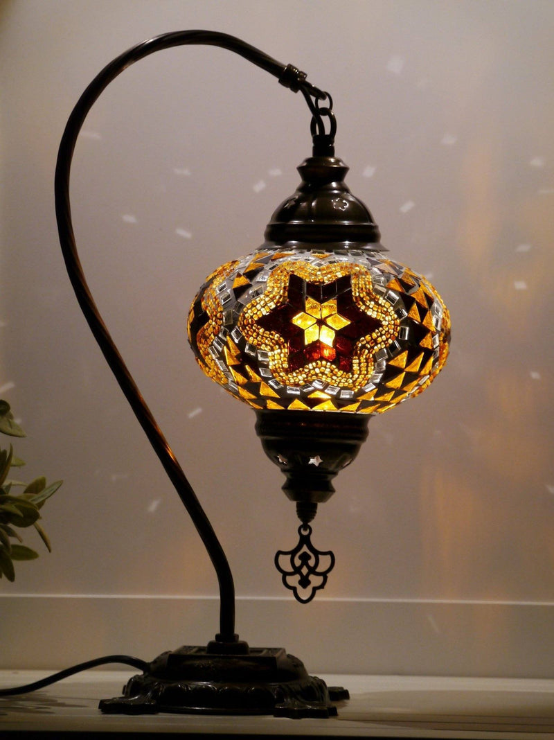 turkish mosaic lamps brown colour Sydney