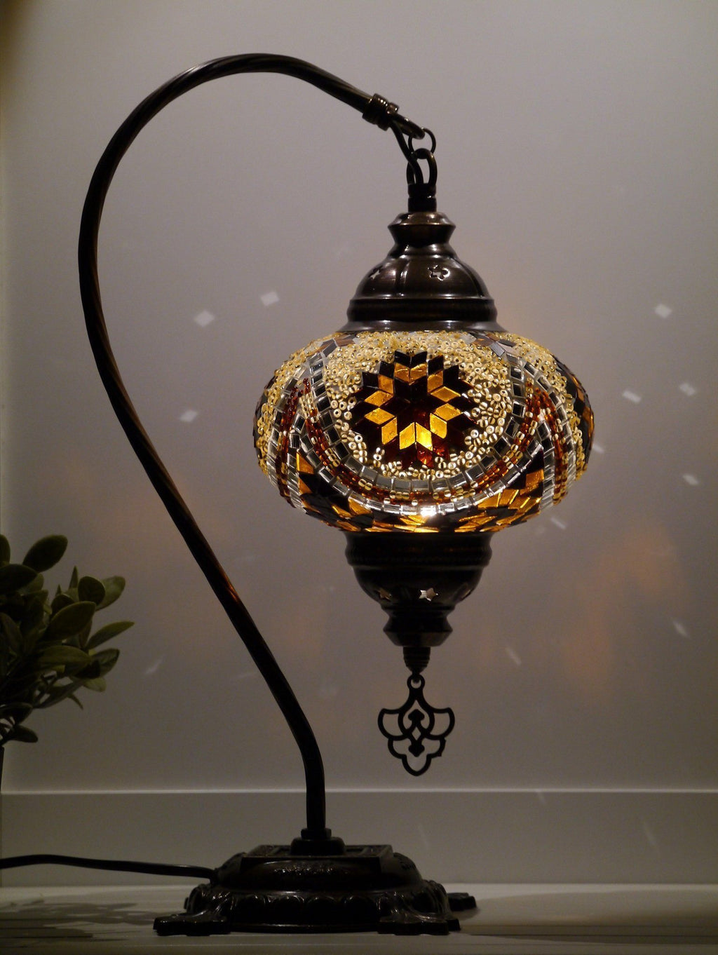 turkish lamps brown colour Australia