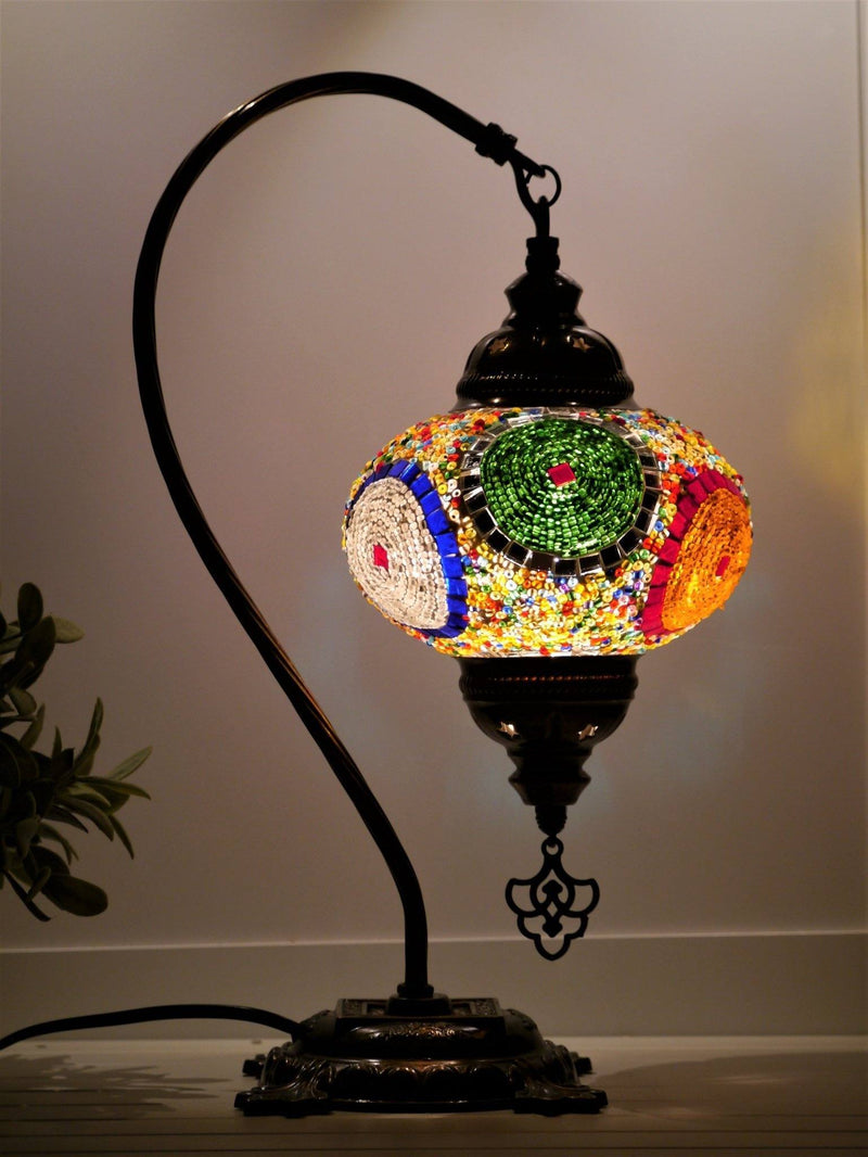 Turkish Lamps Multicoloured Glass Australia