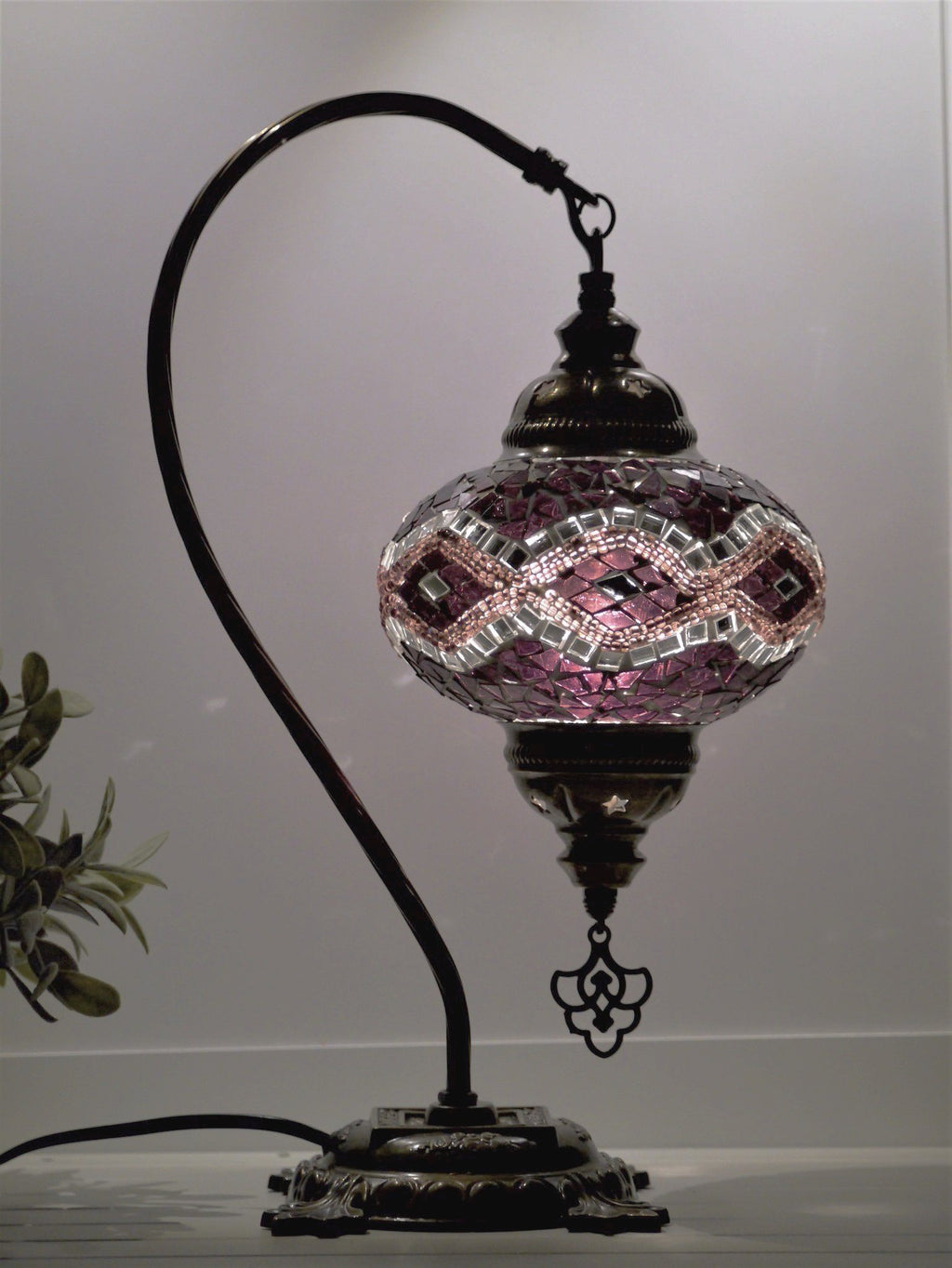 turkish lamp purple colour Melbourne