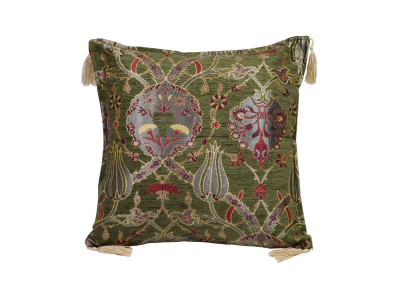 Turkish Cushion Cover Green Colour