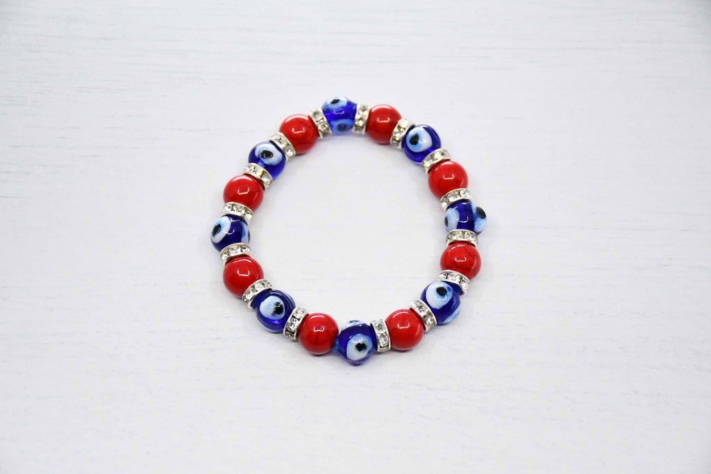 Turkish evil eye bracelet red colour