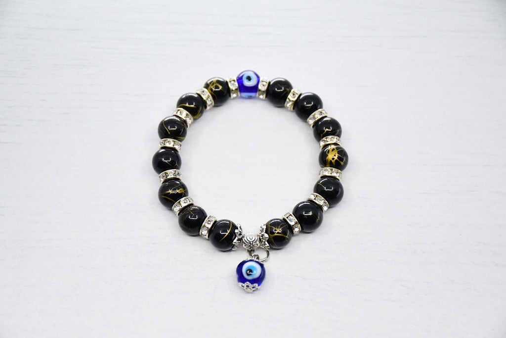 Turkish Evil Eye Bracelet Black Colour