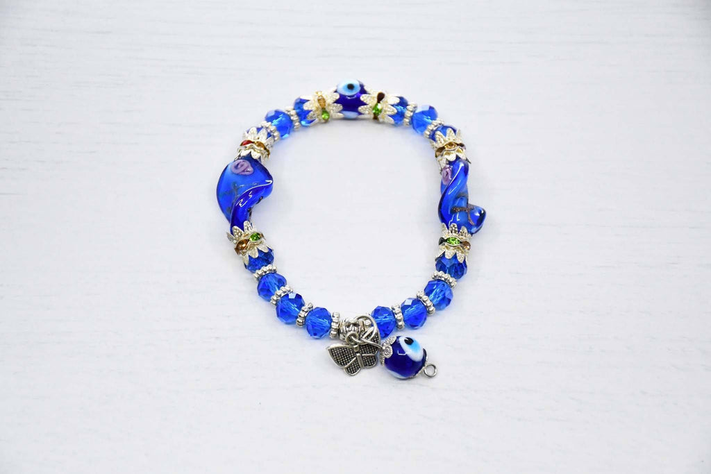 Greek Evil Eye Bracelet Blue Colour Sydney