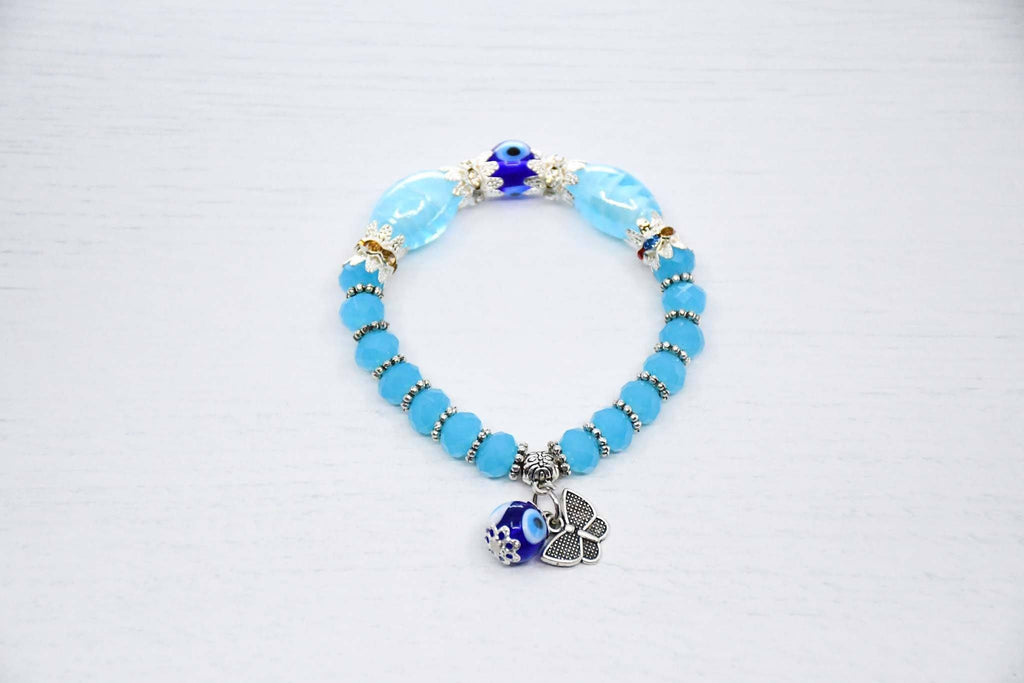 Turkish Evil Eye Bracelet Turquoise Colour Sydney