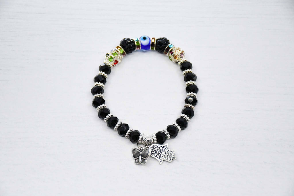Turkish Greek Evil Eye Bracelet Black Colour