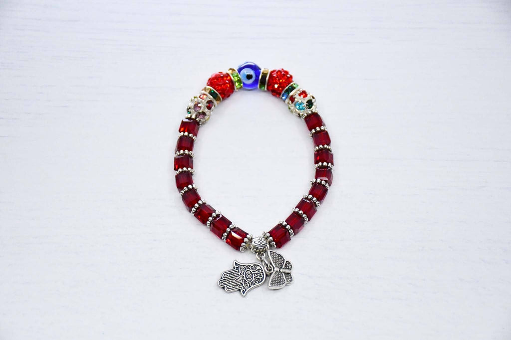 Turkish Evil Eye Bracelet Red Colour Australia