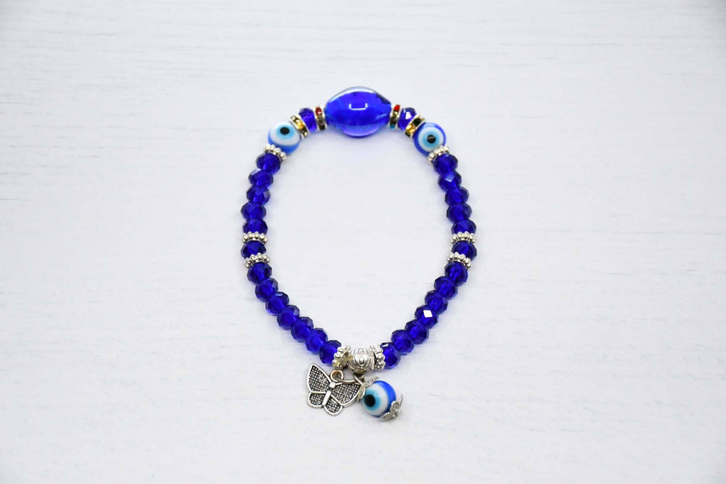 evil eye bracelet blue colour