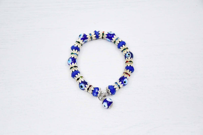 Turkish Greek Mati Evil Eye Bracelet Blue