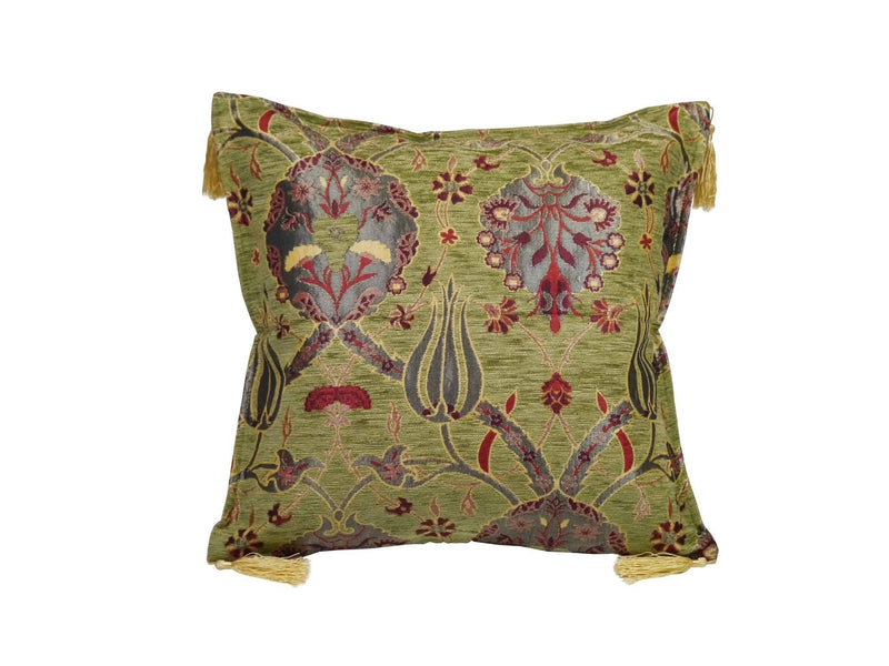 Turkish Cushion Cover Light Green Colour