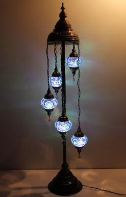 turkish floor lamp blue set Australia