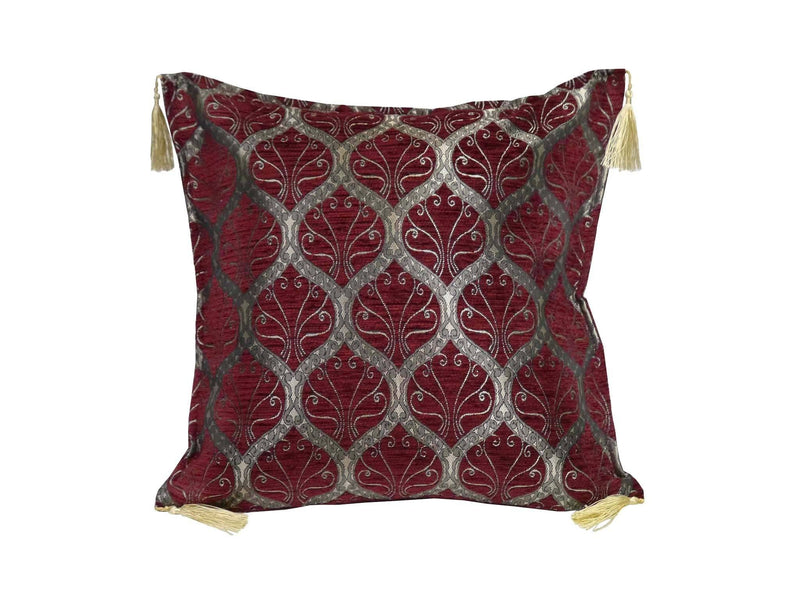 Turkish Cushion Cover Red Maroon Colour