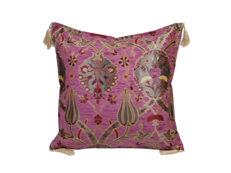 Turkish Cushion Cover Fushia Pink Colour