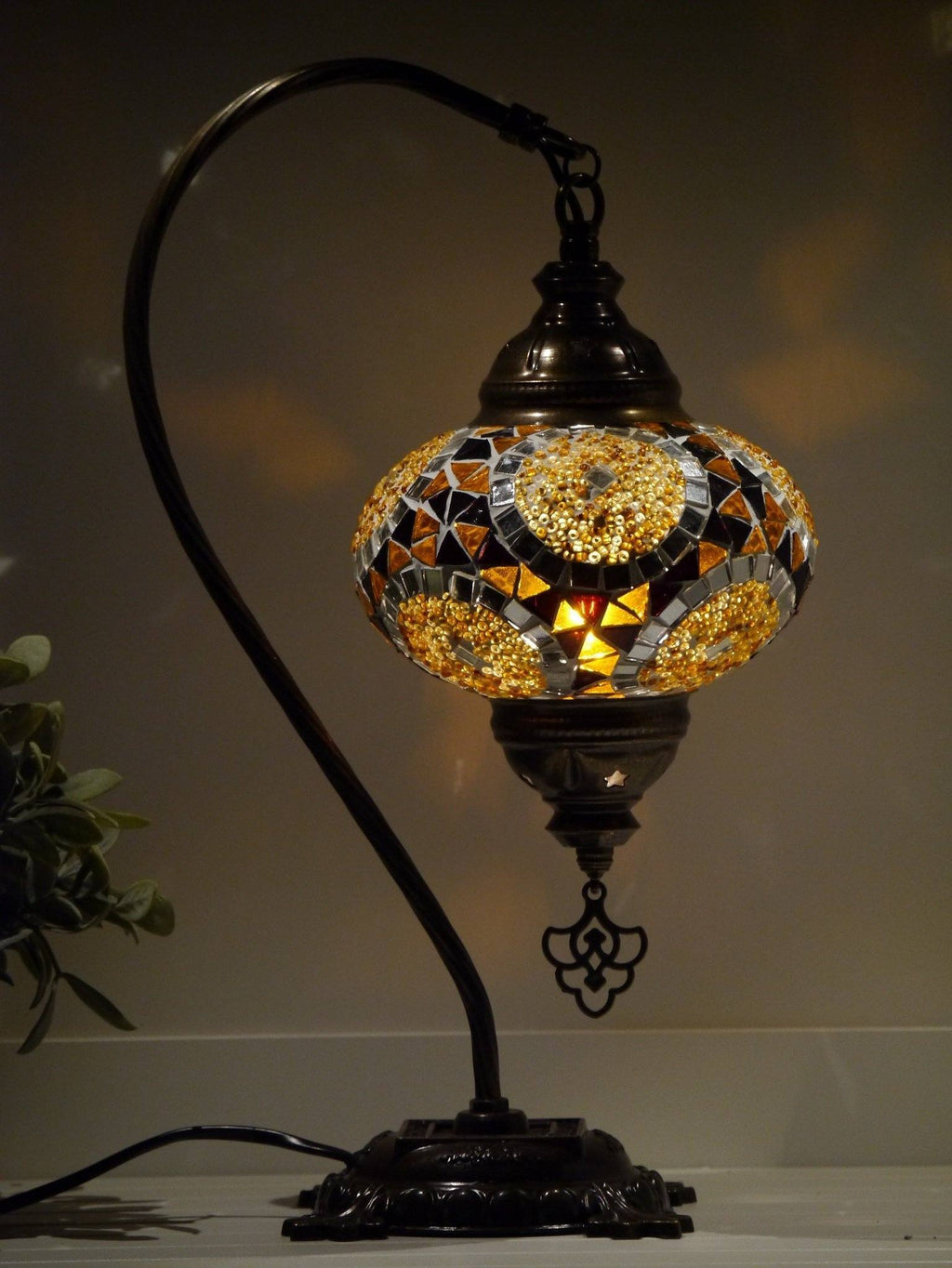 turkish lamps brown colour Sydney