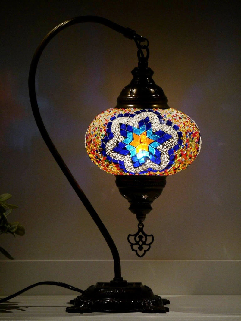 turkish mosaic lamps multicoloured glass