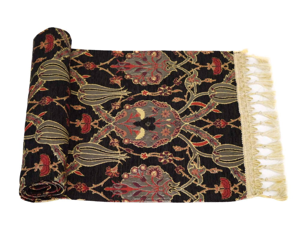 Turkish Table Runner Black