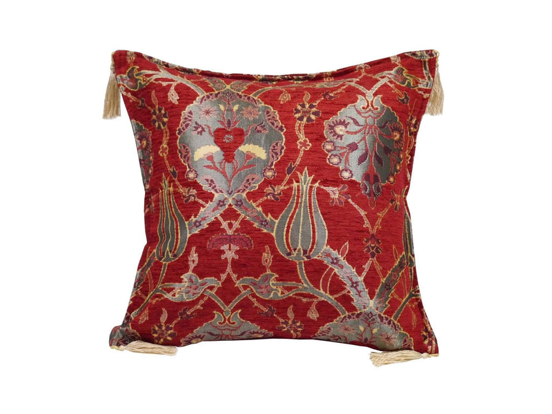 Turkish Cushion Cover Red Colour