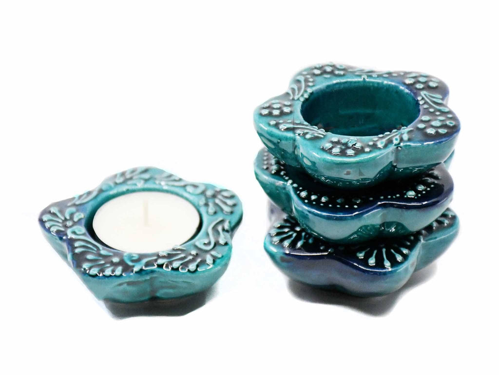 Tealight Holders Firuze Green colour