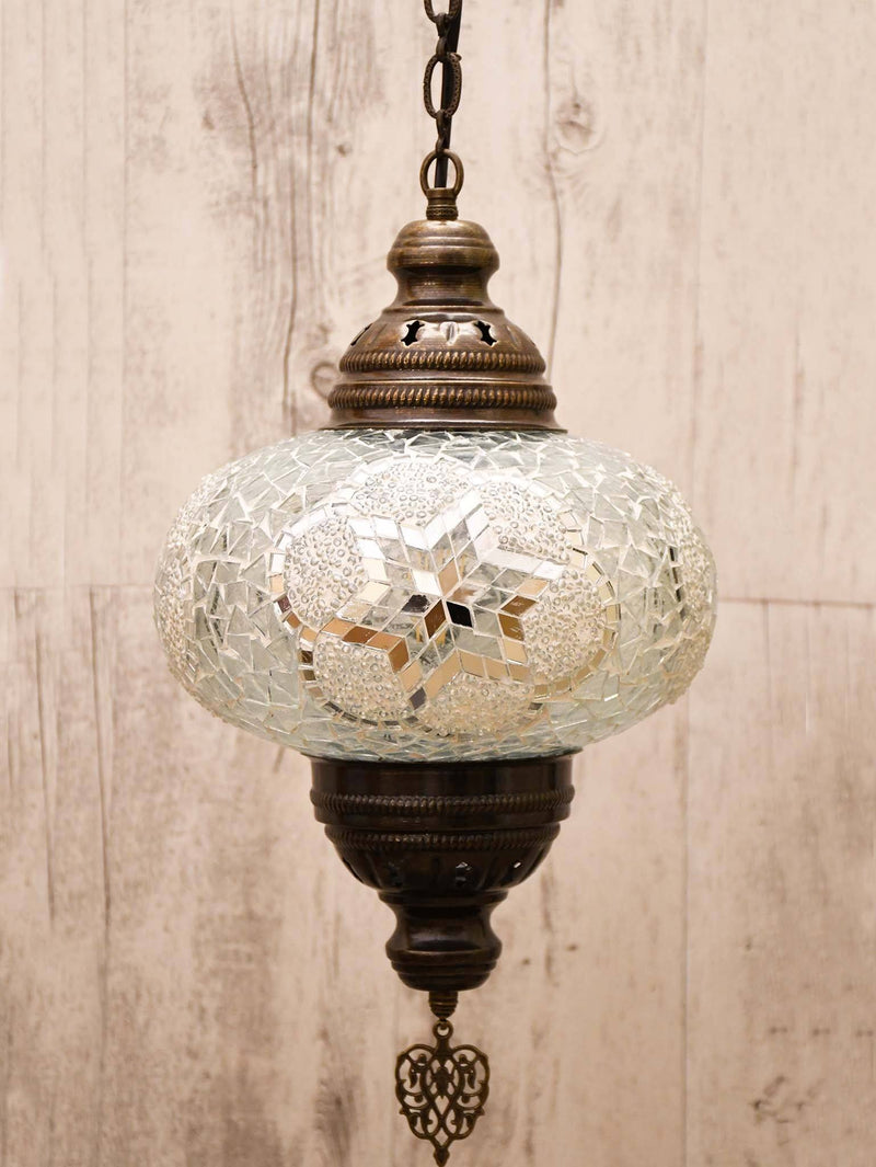 Turkish Ceiling Light Clear White