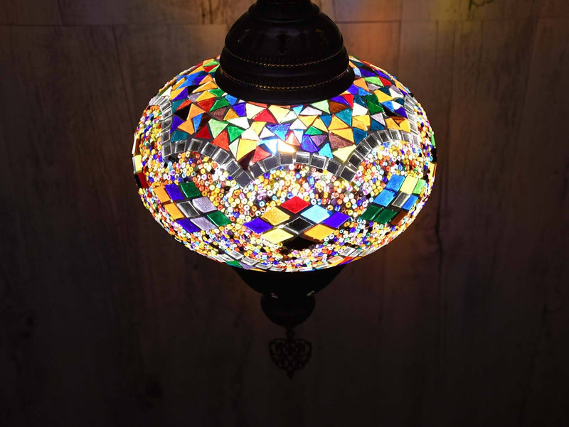Ceiling Chain Fitting Light Colourful Colour