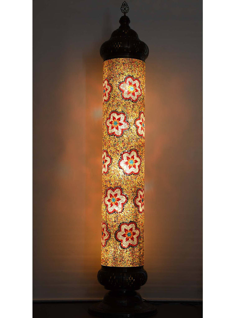 Turkish Floor Lamp 5 Glasses