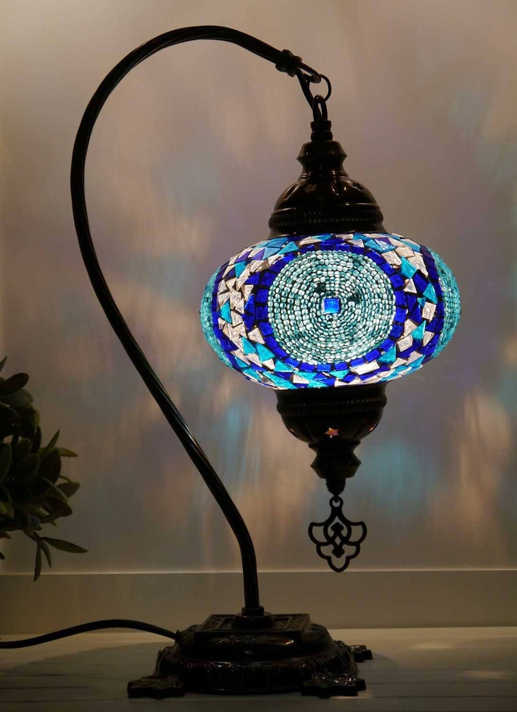 Turkish lights blue aqua colour
