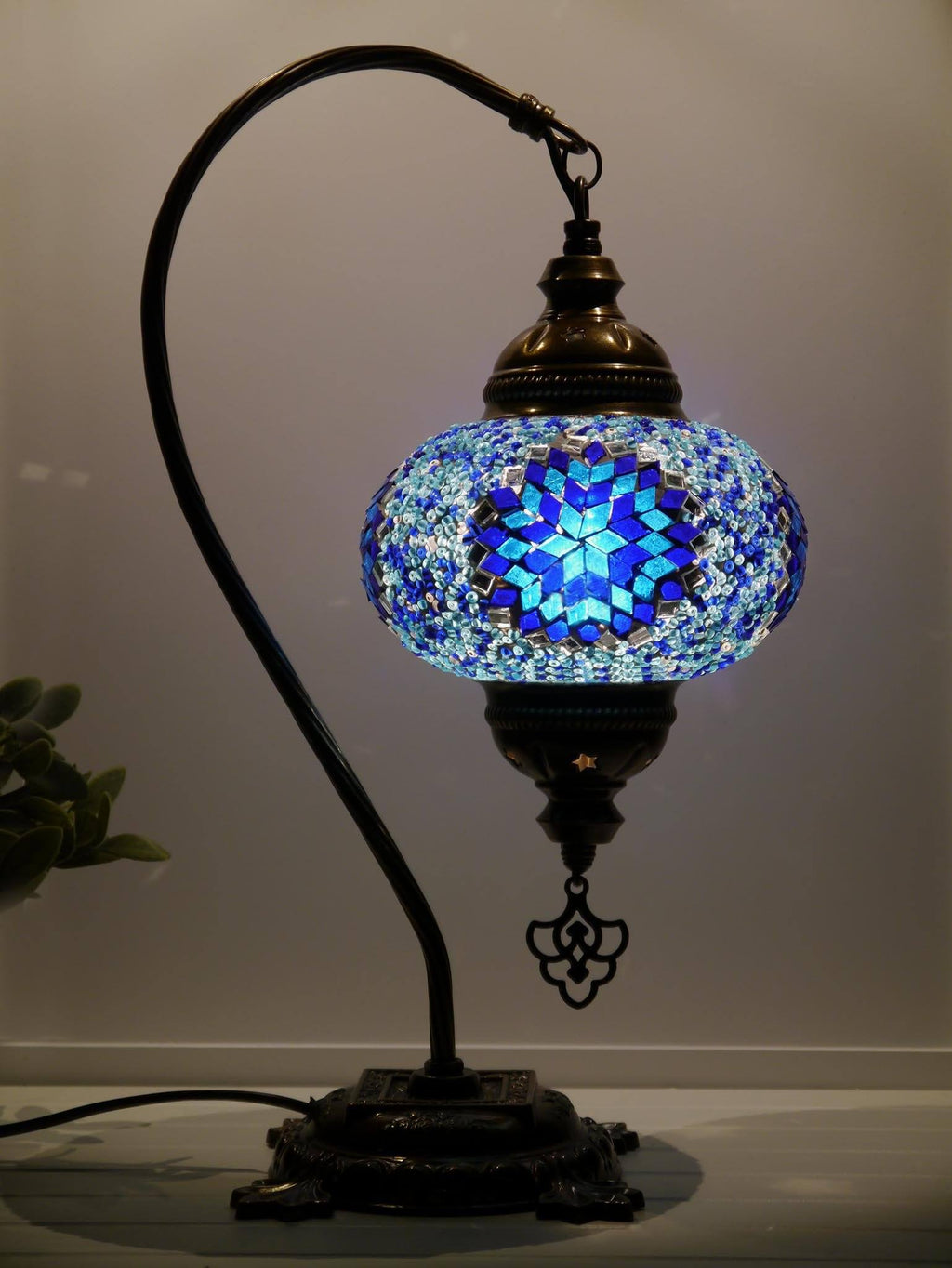 Turkish Lamps Blue Colour Australia
