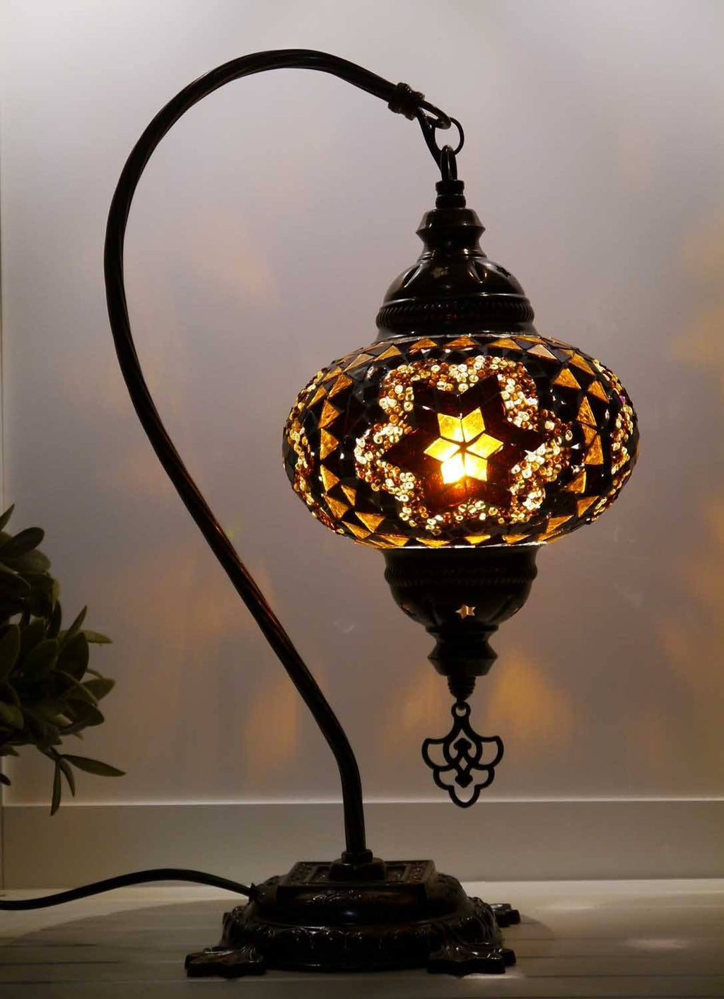 Turkish Lamp Golden Brown colour Australia