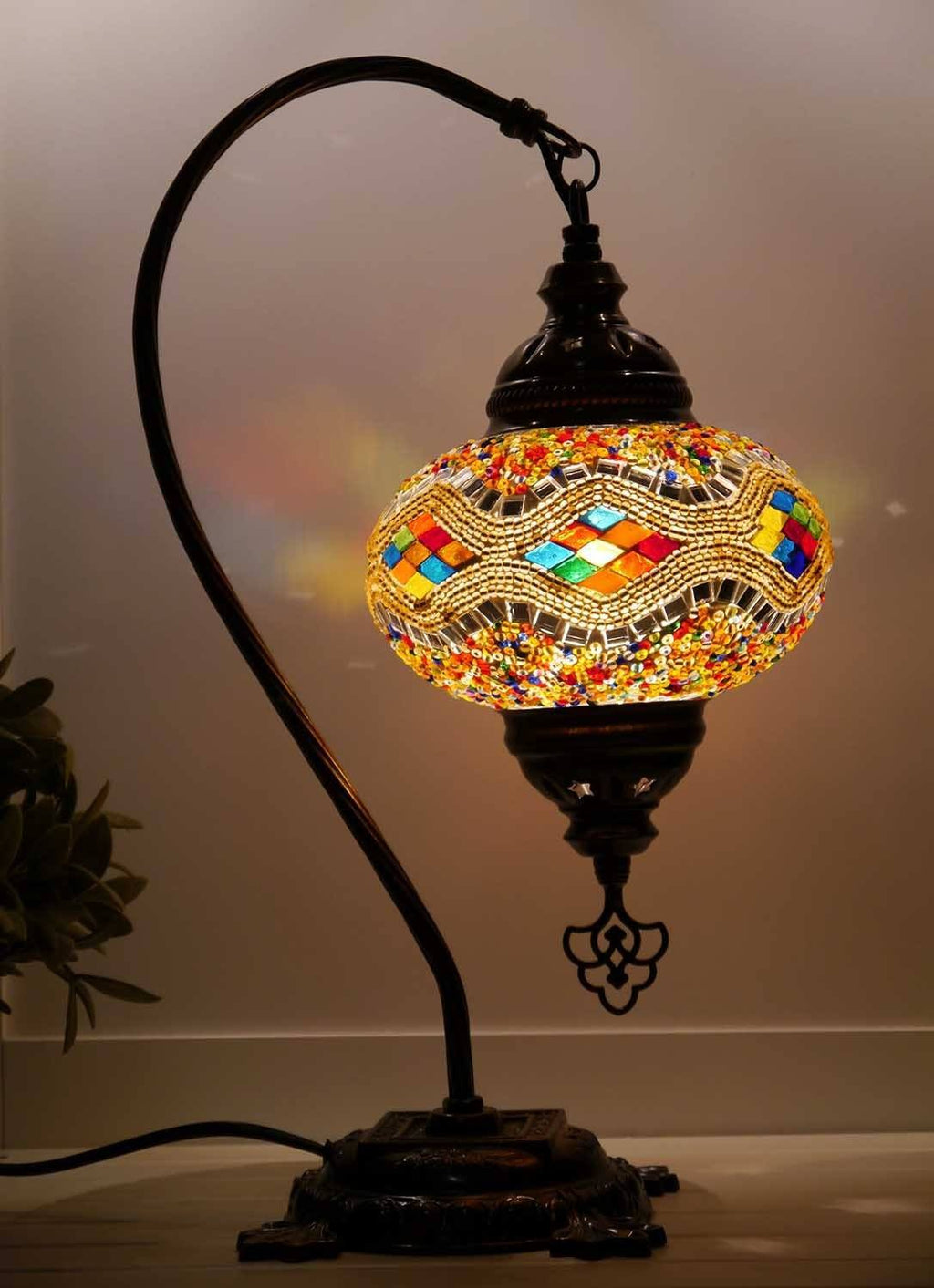 Turkish Lamp Golden colour Australia