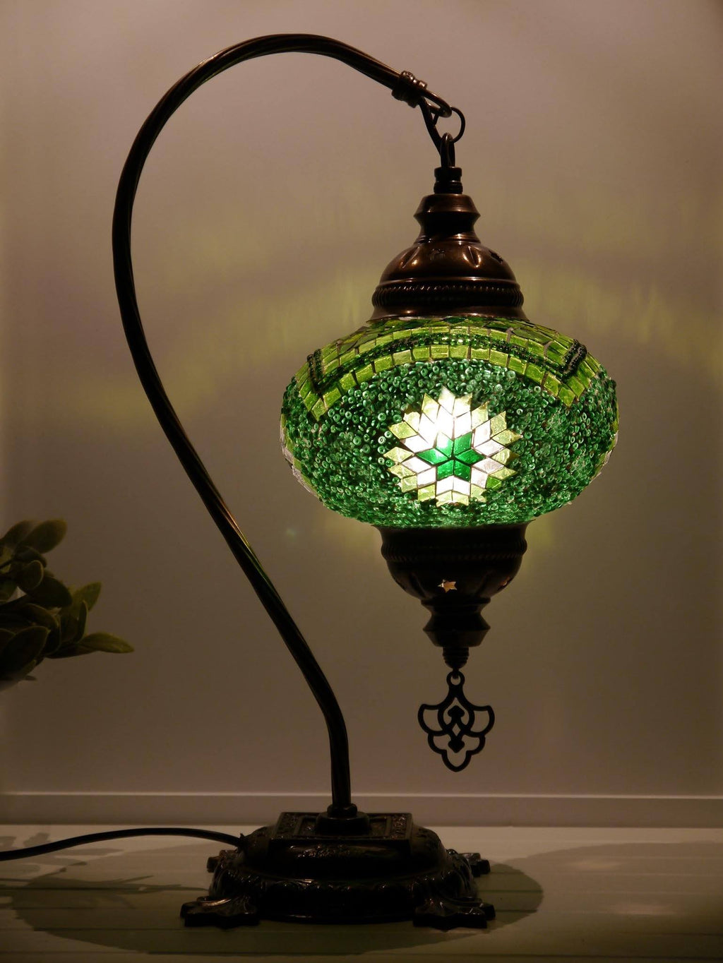 Turkish Lamps Green Colour Sydney