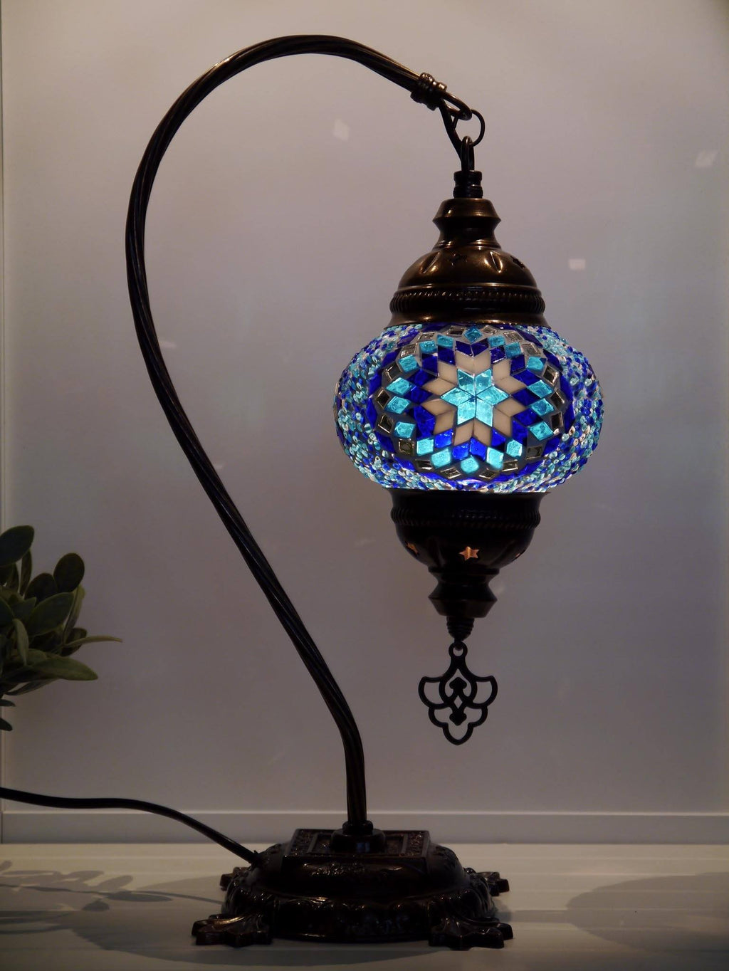 Turkish Lamp Blue Colour Australia Sydney