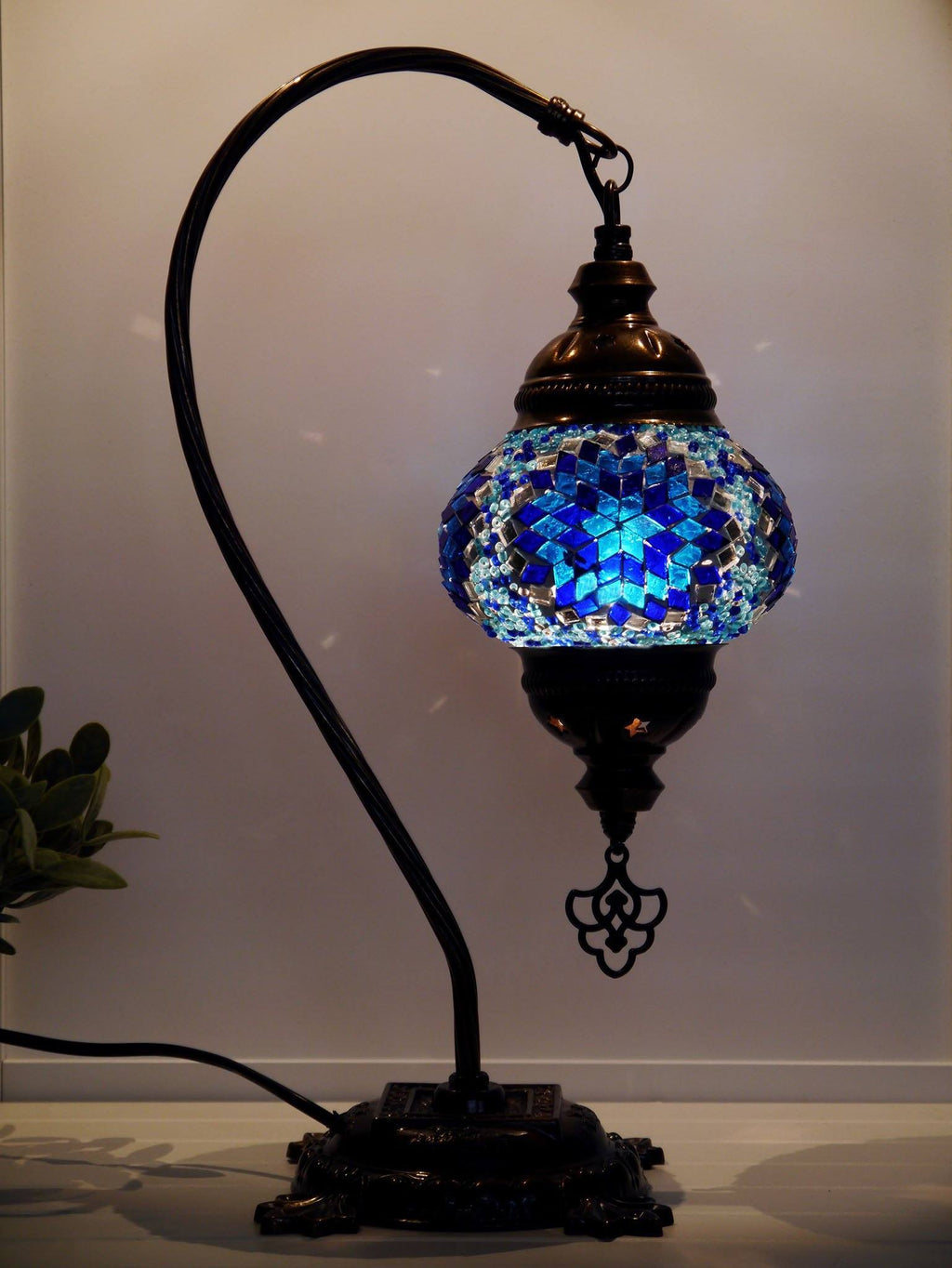 Turkish Lamps Blue Colour Sydney