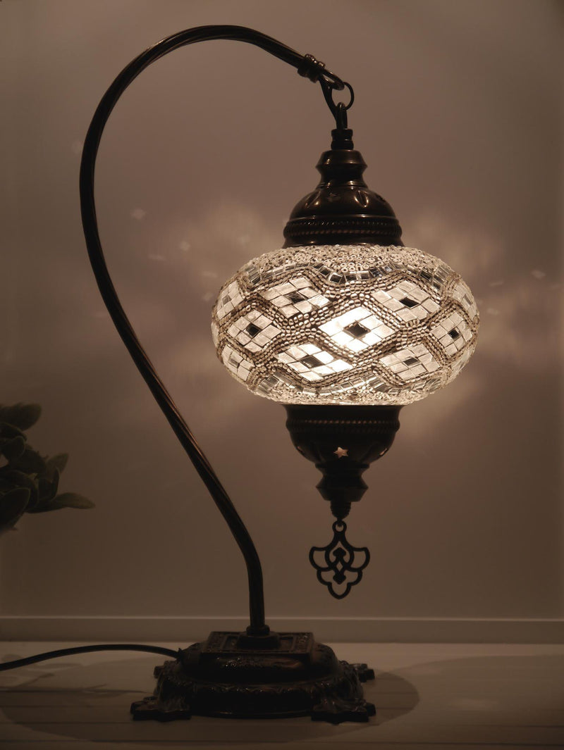 Turkish Lamps White Clear Australia