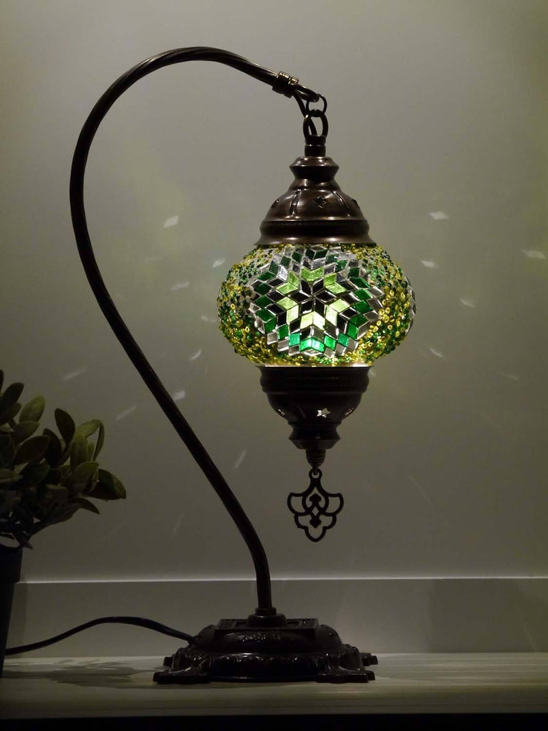 turkish lamps green colour australia