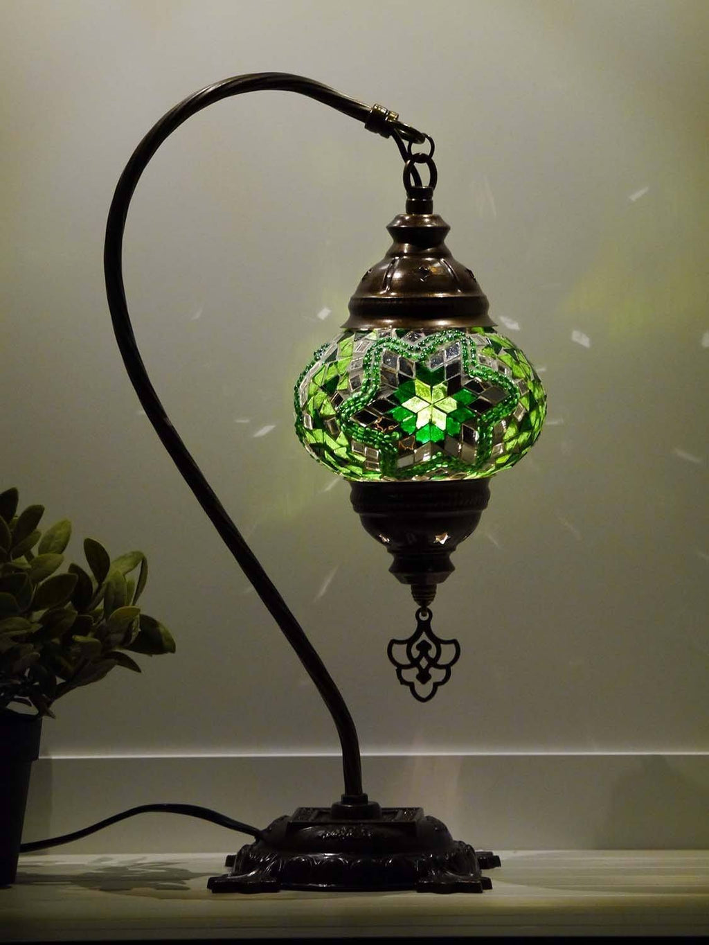 turkish lamp green colour australia