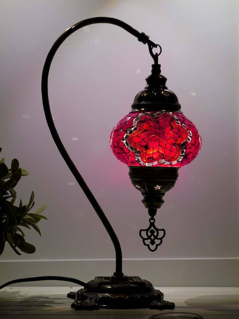 turkish lamps red colour australia