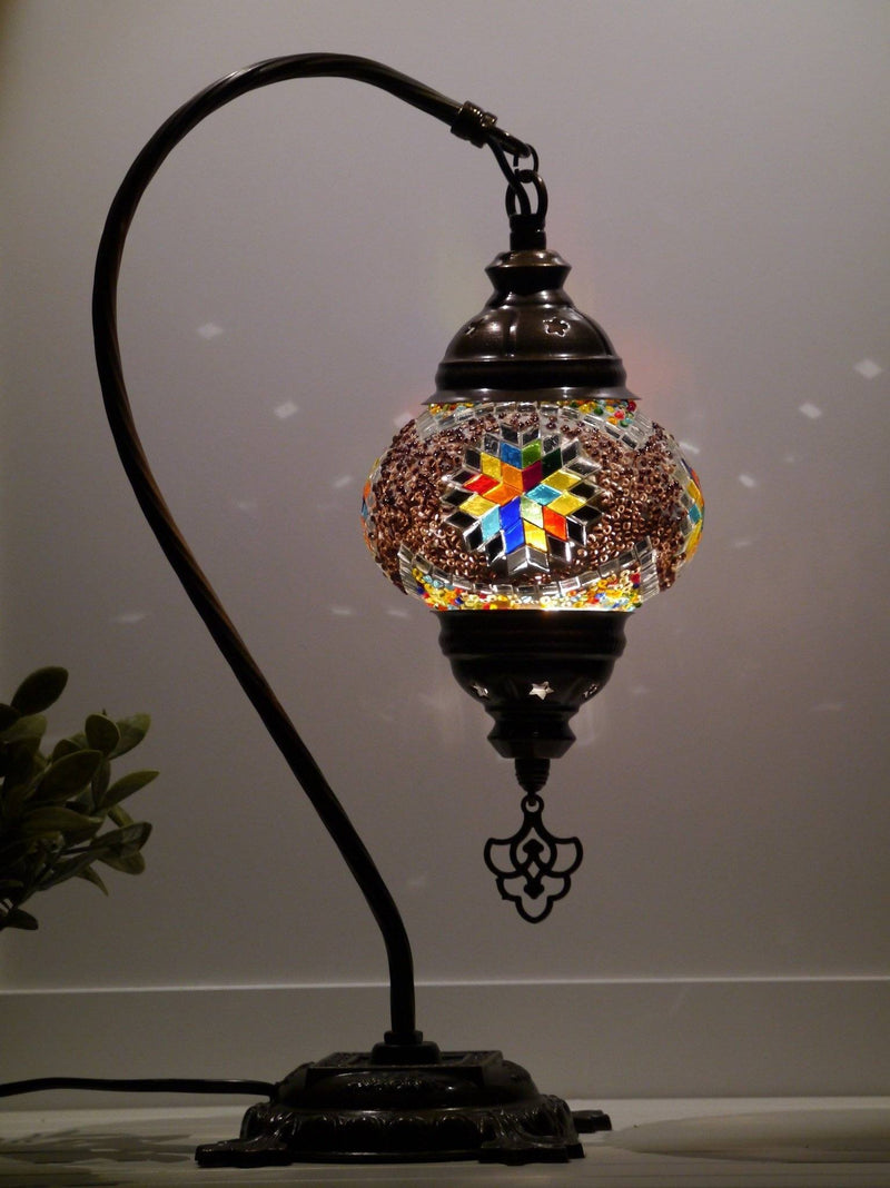 turkish lamp multicoloured australia