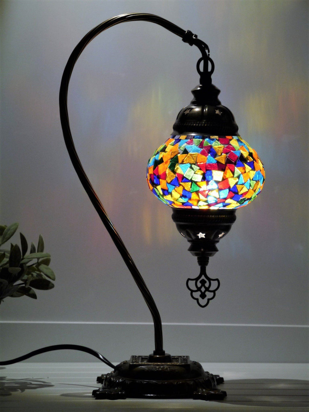 turkish lamps multicolored australia
