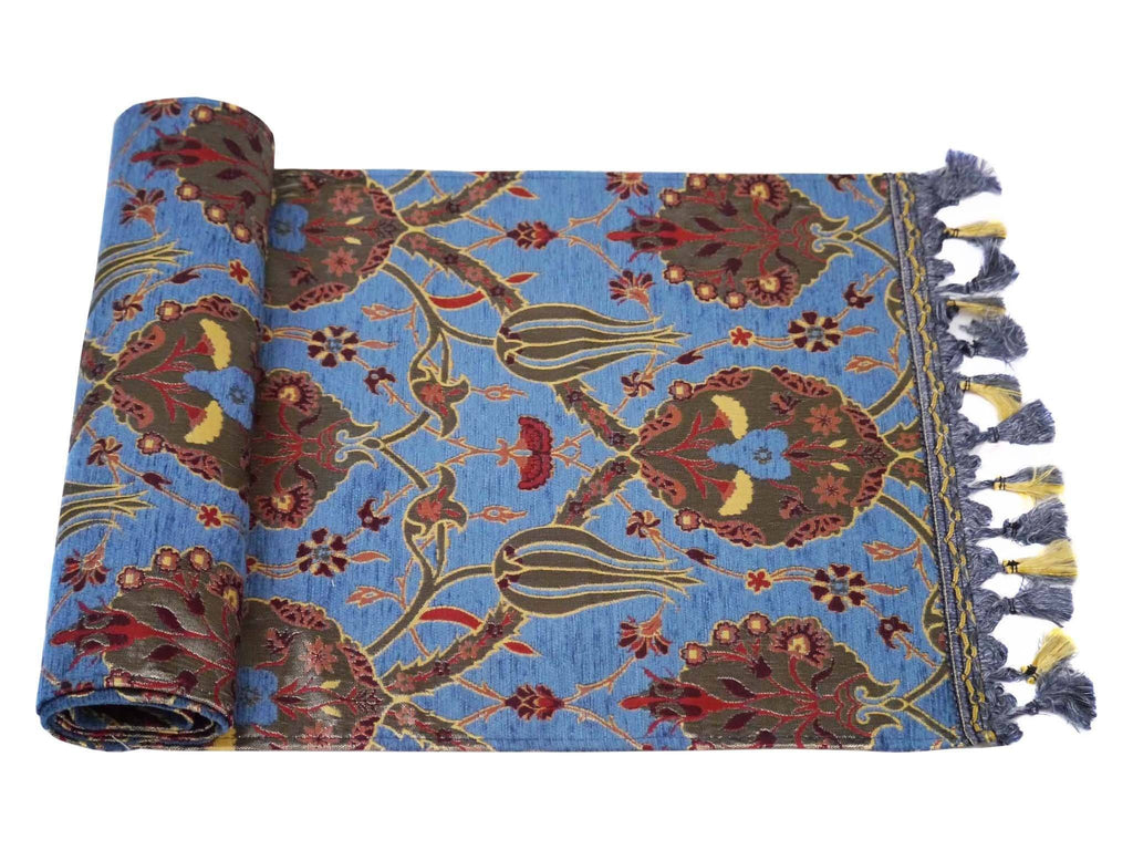 Turkish Table Runner Blue