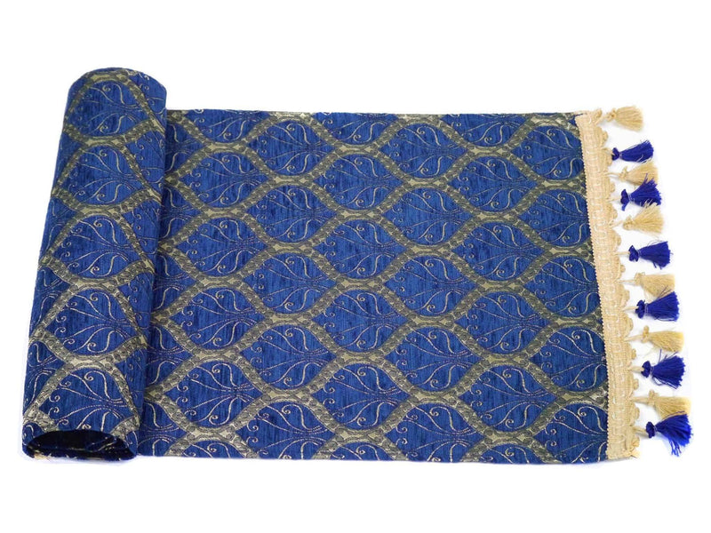 Turkish Table Runner Blue Colour