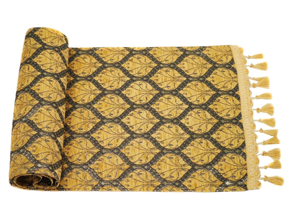 Turkish Table Runner Brown Colour