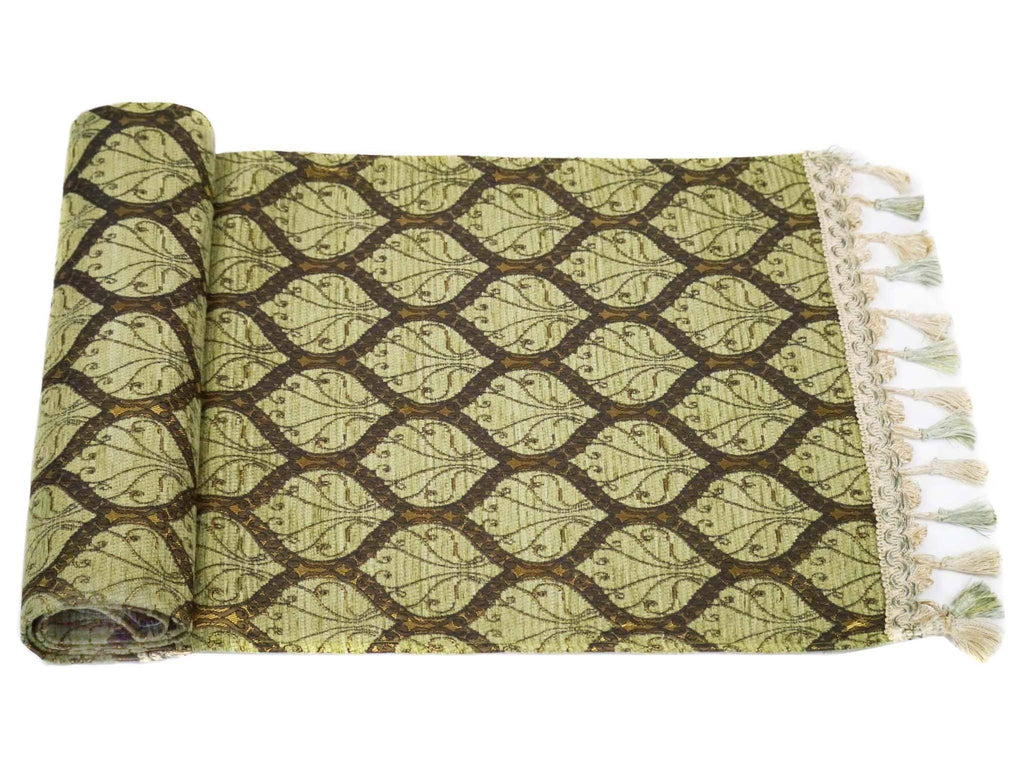 Turkish Table Runner Green Colour