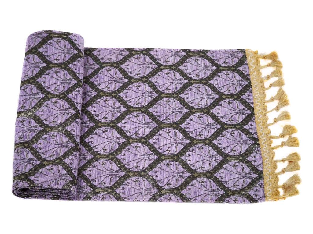 Turkish Table Runner Purple Colour